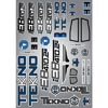 Tekno RC Decal Sheet (EB410.2)