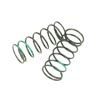 Tekno RC Shock Spring Set Front (Green) (2pcs)