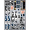 Tekno RC Decal Sheet (ET410.2)