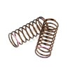 Tekno RC Shock Spring Set (front, 1.4x10.125, 3.61lb/in, 50mm, pink) (2pcs)