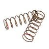 Tekno RC Shock Spring Set (rear, 1.3x8.875, 3.22lb/in, 63mm, red) (2pcs)