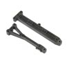 Team Losi Racing Chassis Brace Set: 22X-4