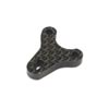 Team Losi Racing Carbon Bell Crank Plate: 22X-4