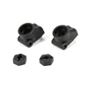 Team Losi Racing Rear Hub Carrier, w/22 Std Hex (2): ALL 22/T
