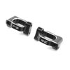 Team Losi Racing Caster Block Set 6 deg Aluminum: 22X-4