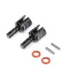 Team Losi Racing Rear HD Lightened Outdrive Set (2): 8X