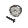 Team Losi Racing Rear Differential Ring and Pinion Gear: 8XT