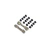 Team Losi Racing Adjustable Front Hinge Pin Brace w/Inserts: 8X