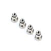 Team Losi Racing Suspension Ball, 6.8mm, Flanged (4): 8X