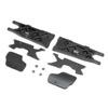 Team Losi Racing Rear Arms Mud Guards Inserts (2): 8XT