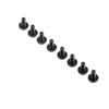 Team Losi Racing Motor Mount Screws (8): 8X