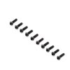 Team Losi Racing Button Head Screws, M2x6mm (10)