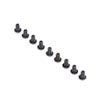Team Losi Racing Button Head Screws, M2.5x4mm (10)