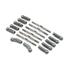 Team Losi Racing HD Turnbuckle Kit, Titanium: 22 5.0
