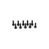 Team Losi Racing Cap Head Screws, M3 x 10mm (10)