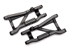 Traxxas Heavy Duty Cold Weather Suspension Arms Rear (Black) (2)