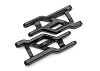 Traxxas Heavy Duty Cold Weather Suspension Arms Front (Black) (2)