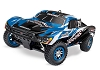 Traxxas Slayer Pro 4WD RTR Nitro Short Course Truck (Blue)
