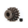 Traxxas Hardened Steel Mod 1.0 Pinion Gear w/5mm Bore (16T)