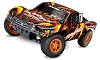 Traxxas Slash 4X4 RTR 4WD Brushed Short Course Truck w/TQ 2.4GHz Radio, Battery & DC Charger (Orange)