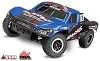 Traxxas Slash 4X4 Brushless 1/10 RTR Short Course Truck (Blue)