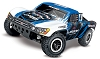 Traxxas Slash 4X4 VXL Brushless 1/10 4WD RTR Short Course Truck (Vision)