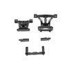 Traxxas Front & Rear Body Mounts w/Mount Posts