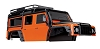 Traxxas TRX-4 Body Land Rover Defender Adventure Edition Body (Orange)