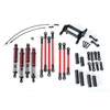 Traxxas Complete Long Arm Lift Kit for TRX-4 - Red