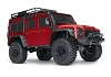Traxxas TRX-4 1/10 Scale Trail Rock Crawler w/Land Rover Defender Body w/ TQi 2.4GHz Radio (Red)