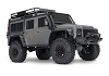 Traxxas TRX-4 1/10 Scale Trail Rock Crawler w/Land Rover Defender Body w/ TQi 2.4GHz Radio (Silver)