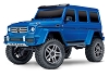 Traxxas TRX-4 1/10 Trail Crawler Truck w/Mercedes-Benz G 500 4X4 Body (Blue)