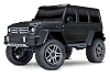 Traxxas TRX-4 1/10 Trail Crawler Truck w/Mercedes-Benz G 500 4X4 Body (Black)