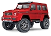 Traxxas TRX-4 1/10 Trail Crawler Truck w/Mercedes-Benz G 500 4X4 Body (Red)