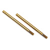 Traxxas 3x47mm GTS Titanium Nitride Coated Shock Shaft (2)