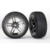 Traxxas Tires And Wheels Assembled (1.9' Response Tires) (Front) (2)
