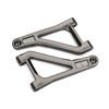 Traxxas Left / Right Upper Assembled Suspension Arms  (Satin Black Chrome-Plated)