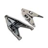 Traxxas Right Lower Assembled Suspension Arm (Satin Black Chrome-Plated)