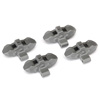 Traxxas Unlimited Desert Racer Front/Rear Brake Calipers (Grey) (4)