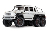 Traxxas TRX-6 1/10 6x6 Trail Crawler Truck w/Mercedes-Benz G 63 AMG Body (White)