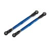 Traxxas Toe Links Wide Maxx Tubes Aluminum Anodized Blue