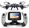 UDI R/C Lark FPV Ready Quadcopter Drone w/2.4GHz Radio, Battery & Charger