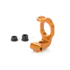 Xray Aluminum C-Hub Front Block Right - Caster 4° - Orange