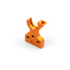 Xray T4'19 Aluminum Layshaft Bulkhead Right - Orange