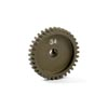 Xray Narrow Pinion Gear Aluminum Hard Coated 34T / 48