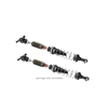 Xray XB8 2016 Rear Shock Absorbers + Boots Complete Set (2)