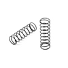 Xray Rear Spring-Set 55mm - 2 Dot (2)