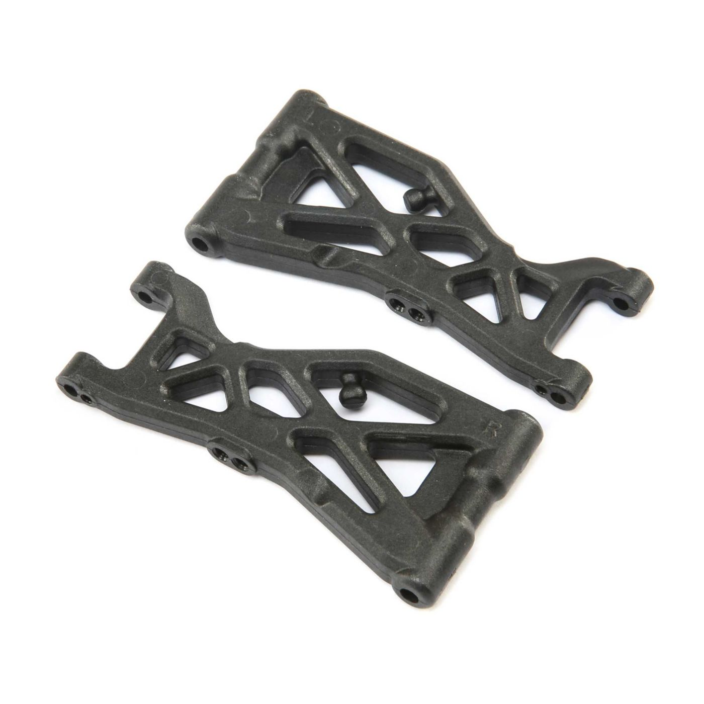 Team Losi Racing Front Arm Set: 22X-4