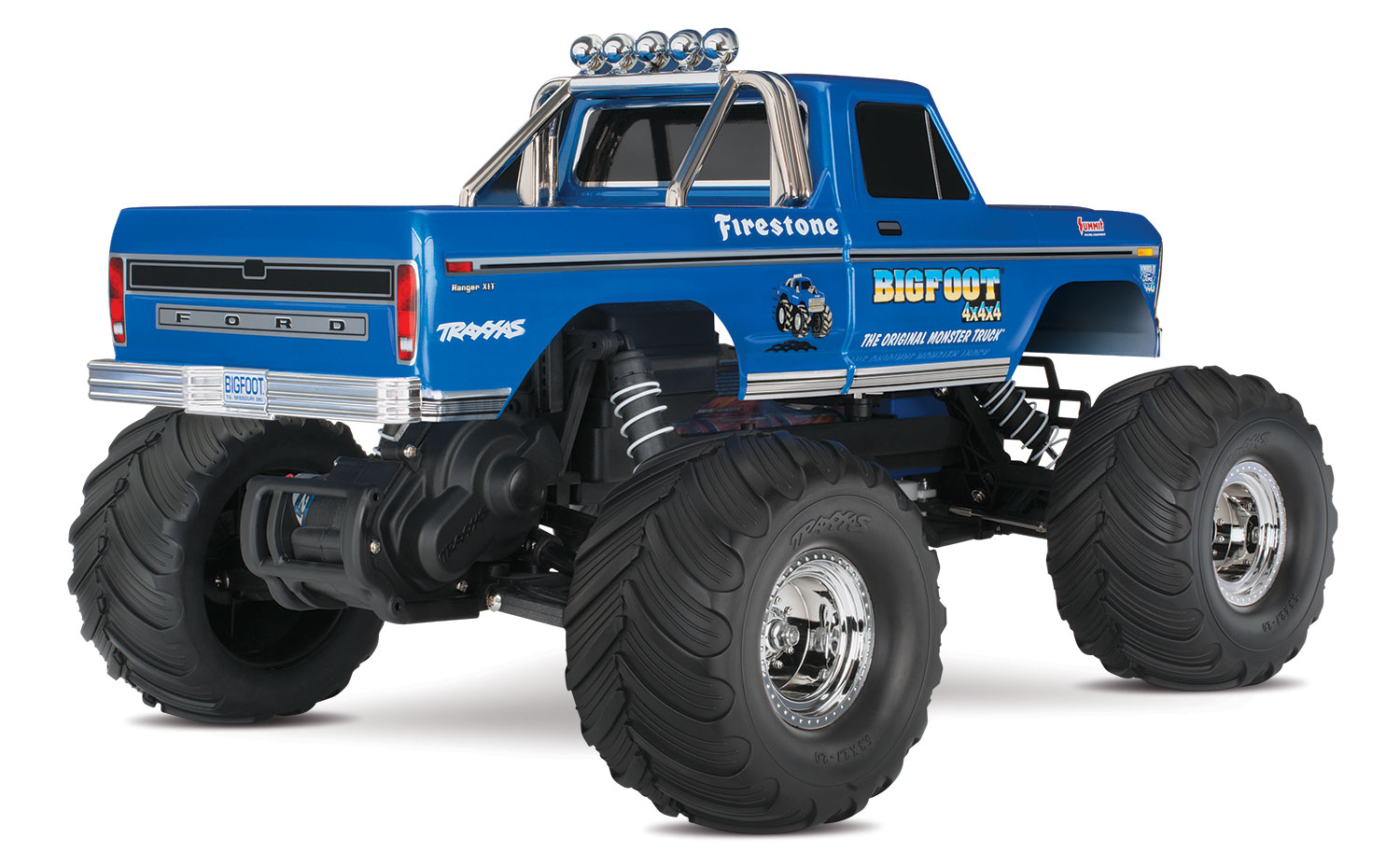 Traxxas Quot Bigfoot 1 Quot Original Monster Rtr 1 10 2wd Monster