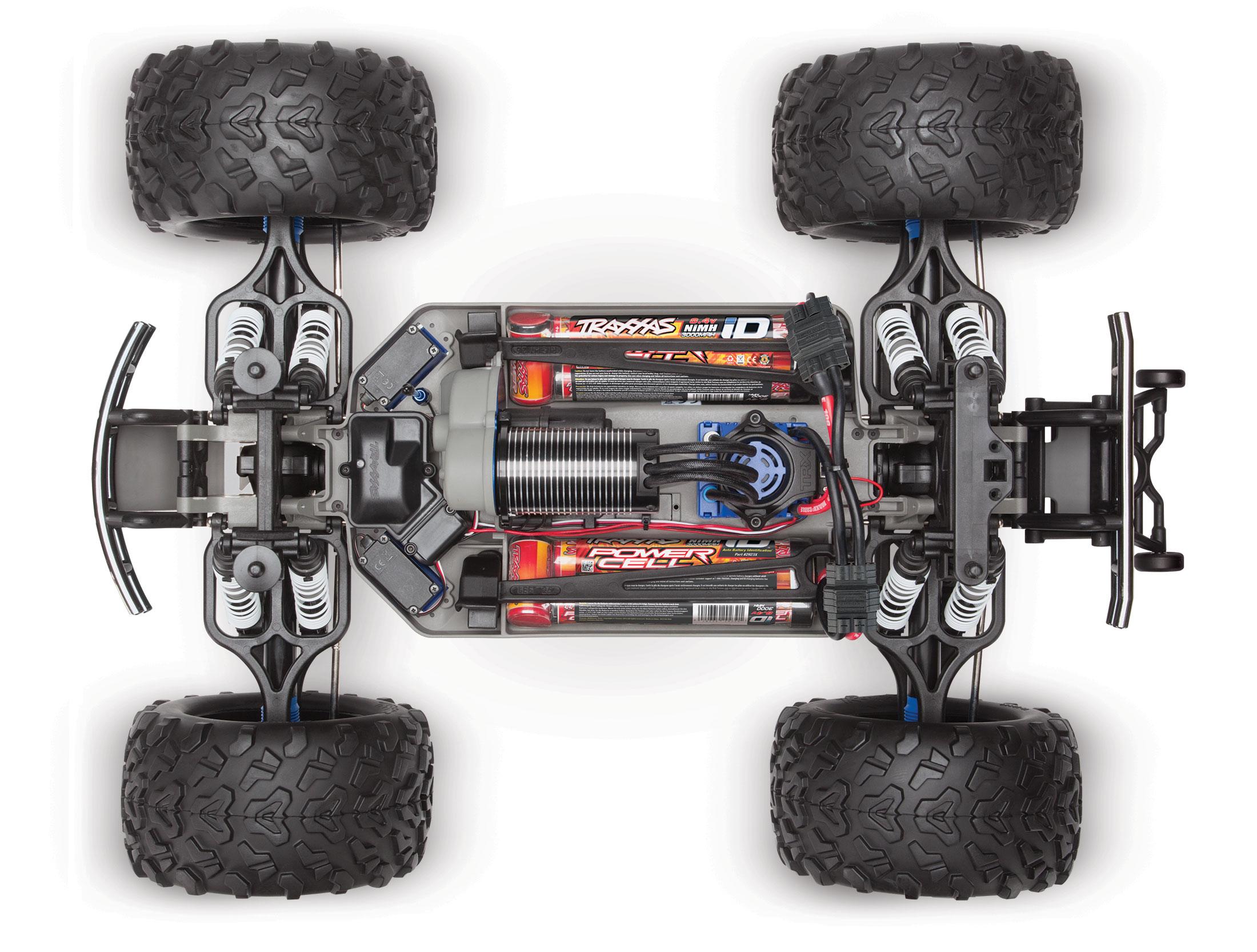 Traxxas E Maxx RTR 4WD Monster Truck w 2 4GHz TQi TSM w Self Righting